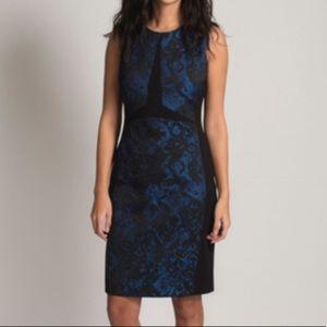 Judith & Charles Jacquard Dress | size 10